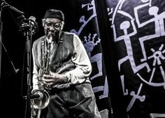 Behance :: Editing Jazz Pictures & Stage Designs from Made in Chicago Jazz Fest. autor Robert Lemke. Performed Fred Anderson