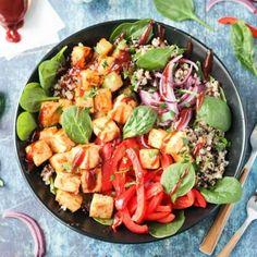 BBQ Hawaiian Tofu Bowl ~ The Simply Vegan Cookbook ~ Veggie Inspired