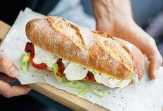 Italian Meatball Sandwich Italian Meatballs, Snacks, Meal Planning, Sandwiches, Meals, Meal, Food And Drinks, Food Food, Recipies
