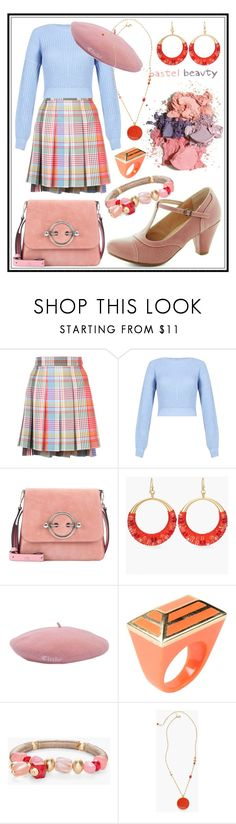 """STYLE 1"" by seus-eky ❤ liked on Polyvore featuring Thom Browne, J.W. Anderson, Chico's and Isharya"