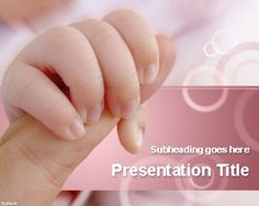 Bonding & Attachment PowerPoint Template | Free Powerpoint Templates