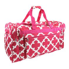 Pink and White Prepacked Hospital Duffle Bag - Prepacked Labor Bag -  Maternity Bag - Baby 1de2eec7dddd8