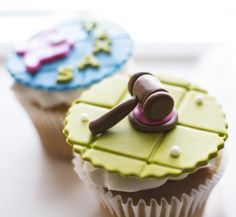 Justice/Lawyer Cupcakes