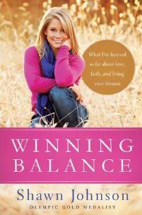 Winning Balance by Shawn Johnson.... Best book EVER!! :)