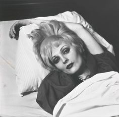 """bookofthesuffering: candy darling on her. - bookofthesuffering: """"candy darling on her deathbed """" I'm so sad! Vintage Photography, Street Photography, Candy Darling, Underground Film, 70s Makeup, Photo B, Doll Eyes, Art Studies, Nice To Meet"""