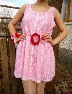 CandyLand Dress by ebonyvintage on Etsy, $80.00