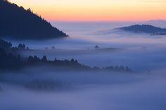 Morning on Wysoki Wierch by Lukáš  Jaseňák ~ Beautiful morning on Pieniny National Park  (VERY close to the border of Slovakia/Poland)