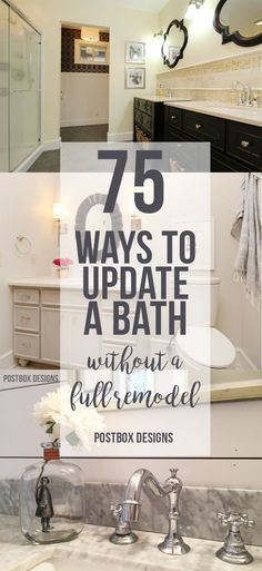 Design Jump Start Week  Free Guide  Ways To Update Your Bathroom Without A Full Remodel