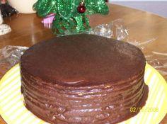 Old Fashioned Multi-Layer Chocolate Cake Cookies Cupcake, Cupcakes, Cupcake Cakes, Brownie Cookies, Köstliche Desserts, Delicious Desserts, Yummy Food, Delicious Chocolate, Old Fashioned Chocolate Cake