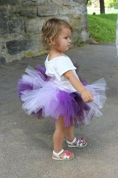 Purple ombre tutu  Baby Tutu  Girls Tutu  by muffintopsandtutus, $20.00