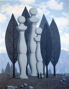 The art of conversation - Rene Magritte - WikiArt.org