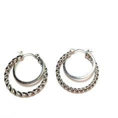 Double hoop earrings Double hoop earrings Jewelry Earrings