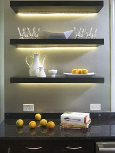 My Decor Education: DIY Ikea Hack: how to install Ikea Lack floating shelves in the kitchen