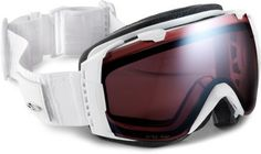 Smith I/O Snow Goggles - White Danger Frame - Ignitor Mirror Lens