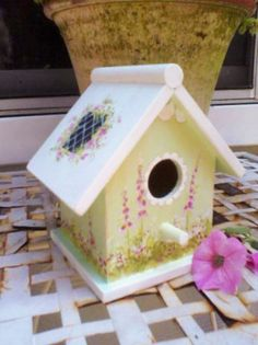 cute birdhouse for sale on Articents $11.00