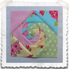 Threadbare Creations: Chatelaine- Free BOW Sampler Quilt Block 39