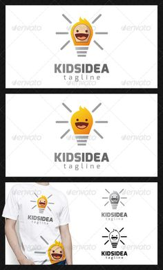 Kid Idea Logo Template