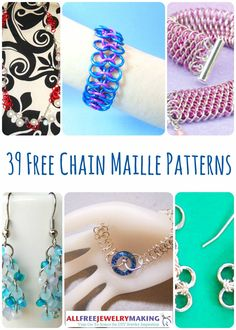 39 Free Chain Maille Jewelry Patterns   AllFreeJewelryMaking.com