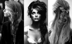 bohemian hair | Looking at these braids makes me want to cry. I want my long hair back ...