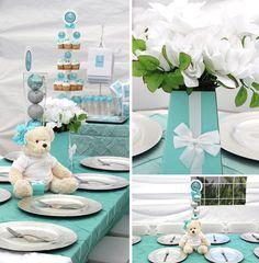 Great Tiffany's themed baby shower #babyshower #tiffanys