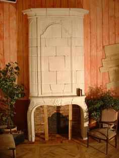 Antique French chimneypiece with over mantel for sale on SalvoWEB from BCA France [Salvo code dealer