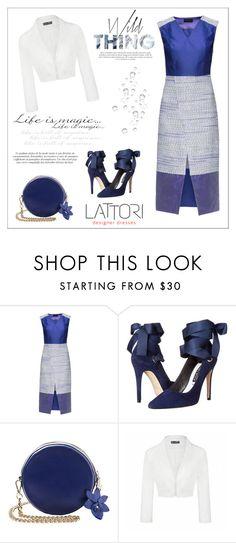 """Lattori"" by aurora-australis ❤ liked on Polyvore featuring Lattori, Alice + Olivia, Ally Fashion, dress, dresses and lattori"