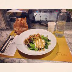 Buona Cena#buona #cena #friends #eataly #smeraldo #farro #verdure #mozzarella senape #milan #city #like #social_network #pinterest #instagram #tumblr #twitter #foursquare #facebook #food