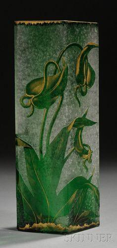 Art Nouveau Art Glass Vase