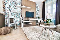Csorba Anita belsőépítész keze munkáját dicséri a lakás végleges formája.