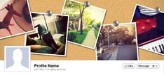 Free Facebook Timeline Cover Art Templates : The Slideshow Blog by Photodex