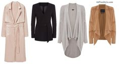 apple body shape flattering jackets coats | 40plusstyle.com