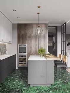 320 best kitchen modern images in 2019 modern kitchens interior rh pinterest com