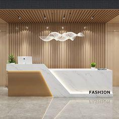 Office Cabin Design, Modern Office Design, Office Furniture Design, Modern Offices, Office Designs, Reception Counter Design, Office Reception Design, Office Counter Design, Cash Counter Design