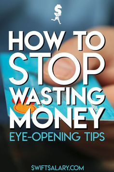 If you want to save and live a frugal lifestyle, the first thing you need to learn is how to stop wasting money. Every day we are bombarded with new products and shiny things, it can be hard to even realize that we're wasting money. These tips will have you wasting less and saving more, and some might surprise you!