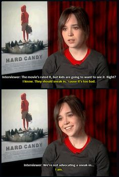 Ellen Page is awesome.