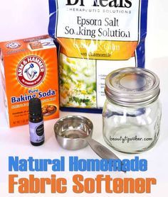 How to Make a Natural Homemade Fabric Softener – When Clean and Crisp is Not Enough There is nothing quite like laundry fresh out of the dryer and to be honest, I don't use fabric softener as I use my homemade fabric softener … and it is super easy! Homemade Cleaning Products, Cleaning Recipes, Natural Cleaning Products, Cleaning Hacks, Diy Hacks, Household Products, Cleaning Supplies, Natural Products, Soap Recipes