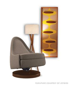 Mid Century Modern Witco styled Atomic Wall Art-Elroy