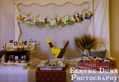 Little Red Hen 2nd Birthday Party