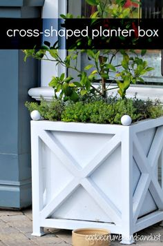 Could DIY this planter box