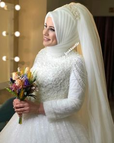 Hijabi Wedding, Disney Wedding Dresses, Muslim Brides, Pakistani Wedding Dresses, Bridal Dresses, Wedding Gowns, Bridesmaid Dresses, Wedding Cakes, Muslim Girls