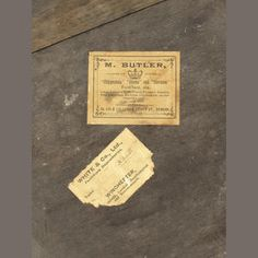 """A large 19th century Irish mahogany peat bucket Bearing the label of Butler of Dublin, the spiral reeded tapering body , the underside with the printed paper trade label of 'M. BUTLER,/ COLLECTOR AND RESTORER OF/ """"Chippendale"""", """"Adams"""" and """"Sheraton""""/ Furniture, etc./ Large Collection of Old French Furniture, Tapestry,/ Rare Engravings, Old China, Cut Glass, etc., on view./ Inspection invited./ WAREHOUSE AND SHOWROOMS:/ 26, 126 & 127 UPPER ABBEY St Dublin…"""