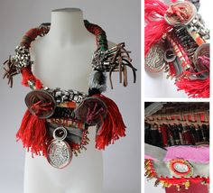 Emmanuelle Loison, Mixed Media neckpiece
