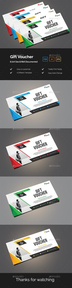 #Gift #Voucher - Loyalty Cards Cards & #Invites Download here: https://graphicriver.net/item/gift-voucher/19880177?ref=alena994