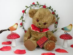Aww Bless !! Baby Cheeky A Merrythought Cheeky bear  (vintage bears old bears Antique bears)