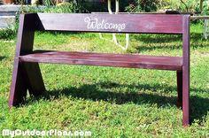 This Is A Beautiful Example Of An Aldo Leopold Bench