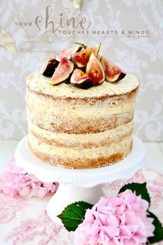 Kessy's Pink Sugar: Honigfeigen Mandeltorte