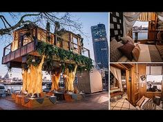 Luxury TREEHOUSE with Two-Bedrooms, a Private Balcony and a Personal Che...