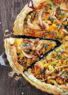 Thanksgiving Pizza. YUM.
