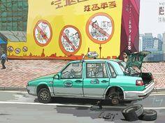 #광저우택시 #guangzhou taxi