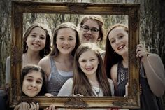BFF photo frame.  Best Friends Photo Shoot.
